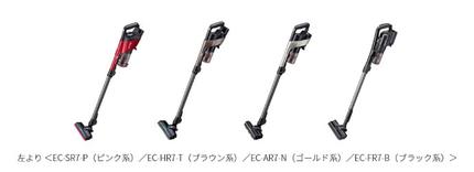 シャープ、コードレス スティック掃除機RACTIVE Air(ラクティブ エア)4機種を発売