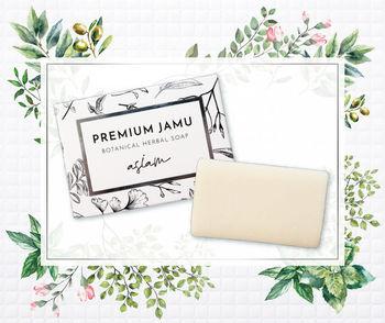 ECホールディングス、「asiam」から天然成分100%のデリケートゾーン用石鹸「プレミアムジャムウ ボタニカルハーバルソープ」を発売