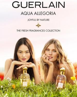 ゲラン、フレグランスコレクション「アクア アレゴリア」から2種の香りを発売