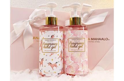 FRAGRANCY、ふんわり香ってサラサラな仕上がりの「オハナ・マハロ」大容量ハンドジェルを発売