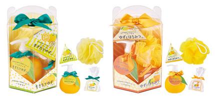 グローバルプロダクトプランニング、四国産ゆずの天然精油の香りで癒すバス&ボディーケアシリーズ「ゆず」を発売
