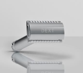 リベルタ、男性用エチケットケアブランド「DEXT」から独の髭剃りブランド「MUHLE」とコラボした両刃カミソリを発売