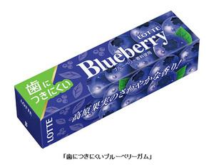 ロッテ、チューインガム「歯につきにくい梅ガム」と「歯につきにくいブルーベリーガム」を発売