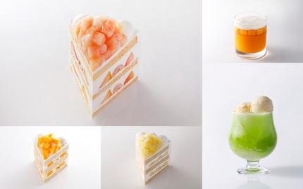 ニュー・オータニ、直営3ホテルで旬の果実が大集合する「ピーチ・マンゴー・メロン」スイーツフェアを開催