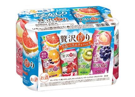 アサヒビール、缶チューハイ「アサヒ贅沢搾り期間限定オレンジとカシス」を発売