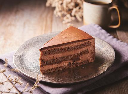 シャトレーゼ、「糖質86%カットの濃厚チョコショートケーキ」を期間限定で発売