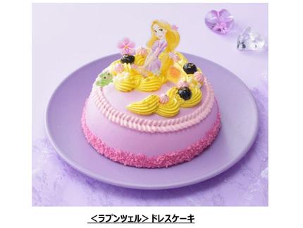 銀座コージーコーナー、ひなまつりを祝うディズニーデザインのデコレーションケーキ・カットケーキの予約受付を開始