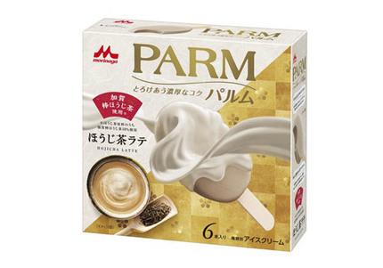 森永乳業、「PARM(パルム)ほうじ茶ラテ(6本入り)」を期間限定発売
