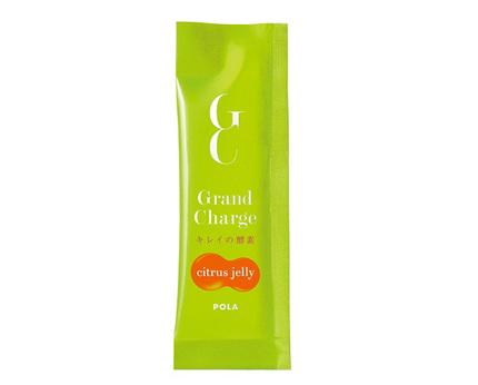 ポーラ、個包装のゼリータイプ「グランチャージ キレイの酵素 シトラスゼリー」を数量限定発売