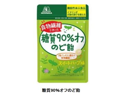 森永製菓、「糖質90%オフのど飴」を機能性表示食品としてリニューアル発売