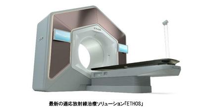 バリアン メディカル システムズ、最新の適応放射線治療ソリューション「ETHOS」が薬事承認を取得、患者一人ひとりの個別化医療を推進