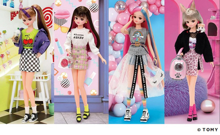 タカラトミー、「リカちゃん」の新シリーズ「#Licca(ハッシュタグ リカ)」を展開、人形と小物がセットになったドールセット4種を発売