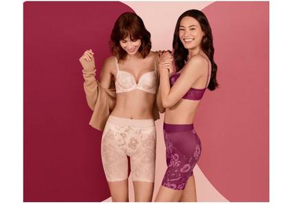 トリンプ、フィットもデザインもバージョンアップしたシェイプウェアシリーズ「Fashion Shape」の新作を発売