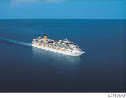 コスタクルーズ、来年春・秋運行予定「コスタセレーナで航く沖縄・台湾ショートクルーズ」に宮古島発クルーズを追加