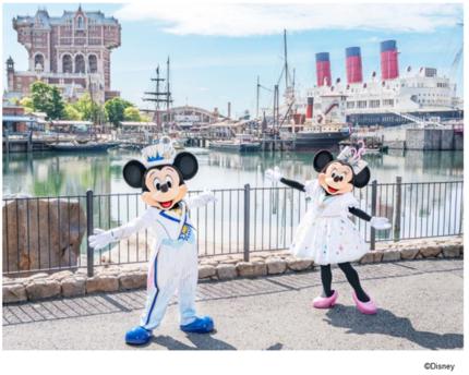 東京ディズニーリゾート、東京ディズニーシーで「東京ディズニーシー20周年:タイム・トゥ・シャイン!」のコスチュームを公開