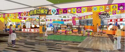 バンダイナムコアミューズメント、アミューズメント施設「namcoエミフルMASAKI店」をオープン