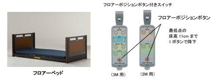 フランスベッド、介護用電動ベッド3種でより利便性を高めた「新手元スイッチ」の販売・レンタルを開始