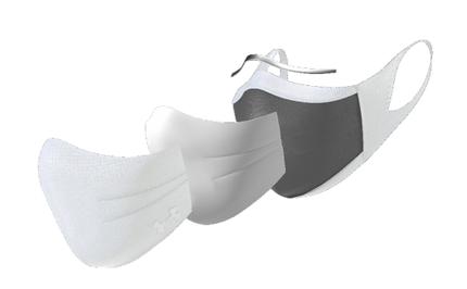 ドーム、アンダーアーマーから「UAスポーツマスク」の新色(ホワイト)を販売